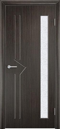 Межкомнатная дверь ПВХ Стрела венге 3