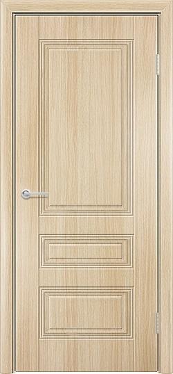 Межкомнатная дверь ПВХ Вектор белёный дуб 3