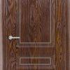 Межкомнатная дверь ПВХ Гладкое венге 1