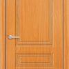 Межкомнатная дверь ПВХ Стиль 2 белая патина 1