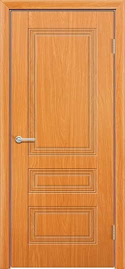 Межкомнатная дверь ПВХ Вектор миланский орех 3