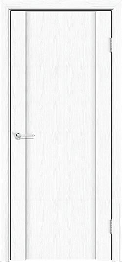Межкомнатная дверь ПВХ Веста 3 белая патина 3