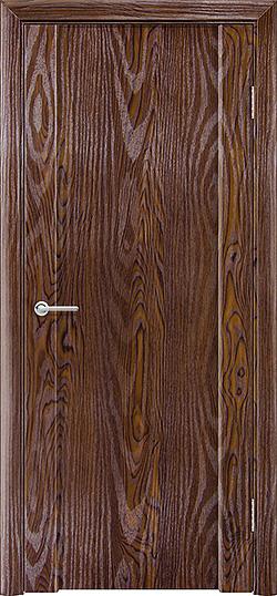 Межкомнатная дверь ПВХ Веста 3 дуб шоколадный 3