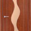 Межкомнатная дверь ПВХ Ника венге 1