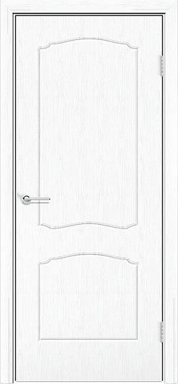 Межкомнатная дверь ПВХ Юлия белая патина 3