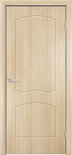 Межкомнатная дверь ПВХ Юлия белёный дуб 3