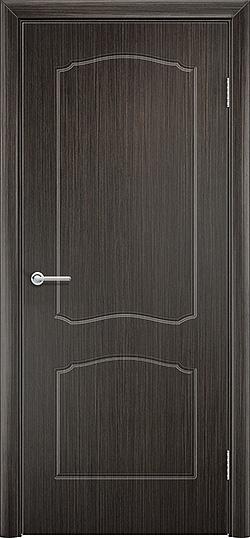 Межкомнатная дверь ПВХ Юлия венге 3