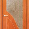 Межкомнатная дверь ПВХ Елена 2 венге 1