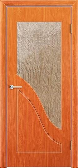 Межкомнатная дверь ПВХ Жасмин груша 3