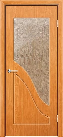 Межкомнатная дверь ПВХ Жасмин миланский орех 3