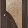 Межкомнатная дверь ПВХ Марсель темный орех 1