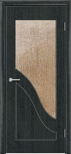 Межкомнатная дверь ПВХ Жасмин венге патина 3