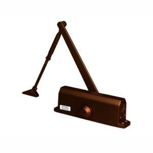 Доводчик дверной коричневый 1