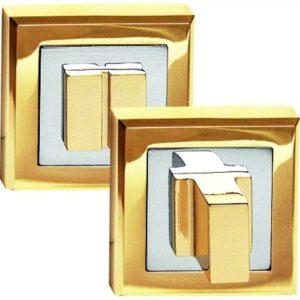 Фиксатор сантехнический квадратный золото 2