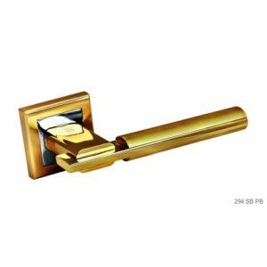 Ручка дверная А294 золото 2