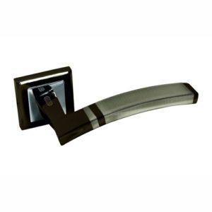 Ручка дверная А230 черный хром 2