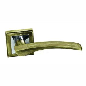 Ручка дверная А232 бронза 2