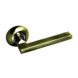 Ручка дверная А40 бронза 2