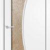 Ламинированная межкомнатная дверь Каприз итальянский орех 1