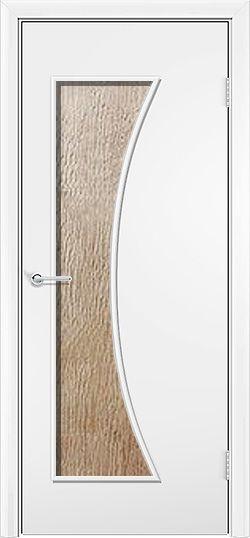 Ламинированная межкомнатная дверь Афина белый 3
