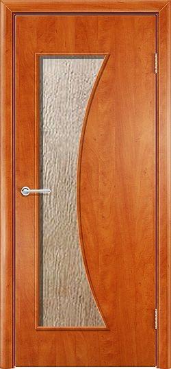 Ламинированная межкомнатная дверь Афина груша 3