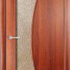 Ламинированная межкомнатная дверь Лабиринт белёный дуб 1