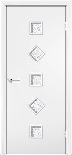 Ламинированная межкомнатная дверь Фантазия белый 3
