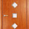Ламинированная межкомнатная дверь Луна миланский орех 2