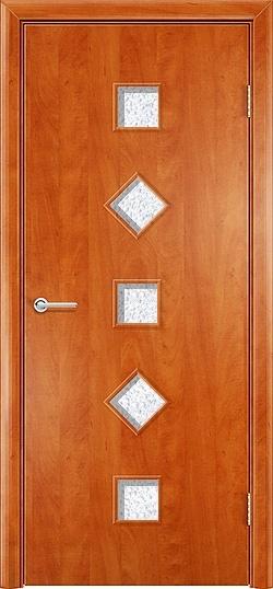 Ламинированная межкомнатная дверь Фантазия груша 3