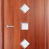 Ламинированная межкомнатная дверь Тифани груша 1