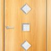 Ламинированная межкомнатная дверь Парус миланский орех 2