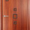 Ламинированная межкомнатная дверь Волна белёный дуб 2