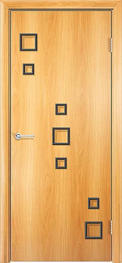 Межкомнатная дверь Геометрия миланский орех 2