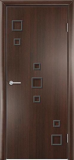 Межкомнатная дверь Геометрия венге премиум 3