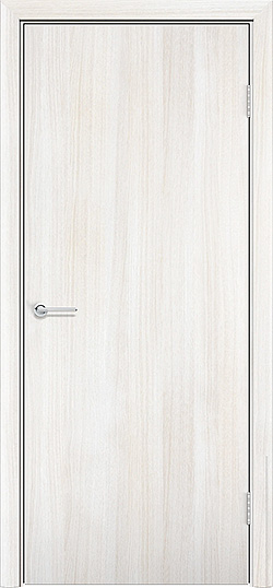 Ламинированная межкомнатная дверь Глухая белёный дуб 3