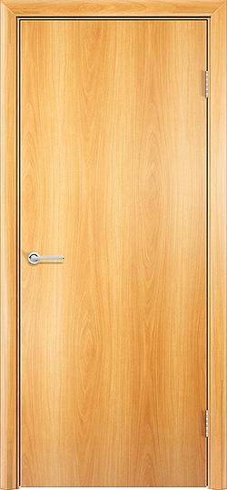 Ламинированная межкомнатная дверь Глухая миланский орех 3