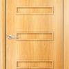 Ламинированная межкомнатная дверь Стрелец белёный дуб 1
