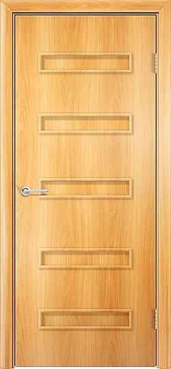 Ламинированная межкомнатная дверь Горизонт 1 миланский орех 3