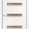 Ламинированная межкомнатная дверь Лето итальянский орех 2