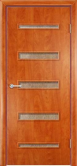Ламинированная Межкомнатная дверь Горизонт 2 груша 3