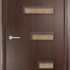 Ламинированная межкомнатная дверь Стрелец венге премиум 2