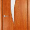 Ламинированная межкомнатная дверь Стандарт 2 белёный дуб 1