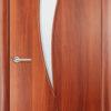 Ламинированная межкомнатная дверь Катана венге премиум 1