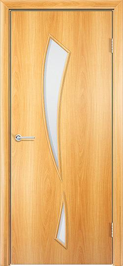 Ламинированная межкомнатная дверь Камея миланский орех 3