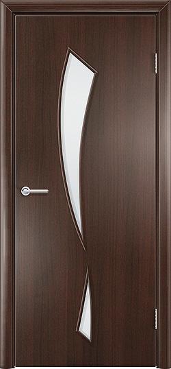Ламинированная Межкомнатная дверь Камея венге премиум 3