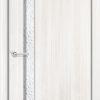 Ламинированная межкомнатная дверь Камила белёный дуб 1
