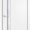 Ламинированная межкомнатная дверь Горизонт 2 белёный дуб 1