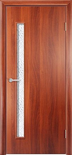 Ламинированная межкомнатная дверь Каприз итальянский орех 3