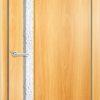 Ламинированная межкомнатная дверь Цитадель итальянский орех 1