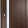 Ламинированная межкомнатная дверь Лабиринт венге премиум 2